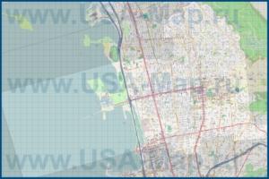 Подробная карта города Беркли