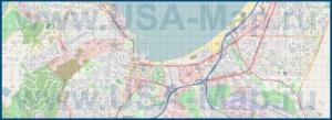 Подробная карта города Монтерей